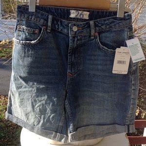 New free ppl Jean Shorts.
